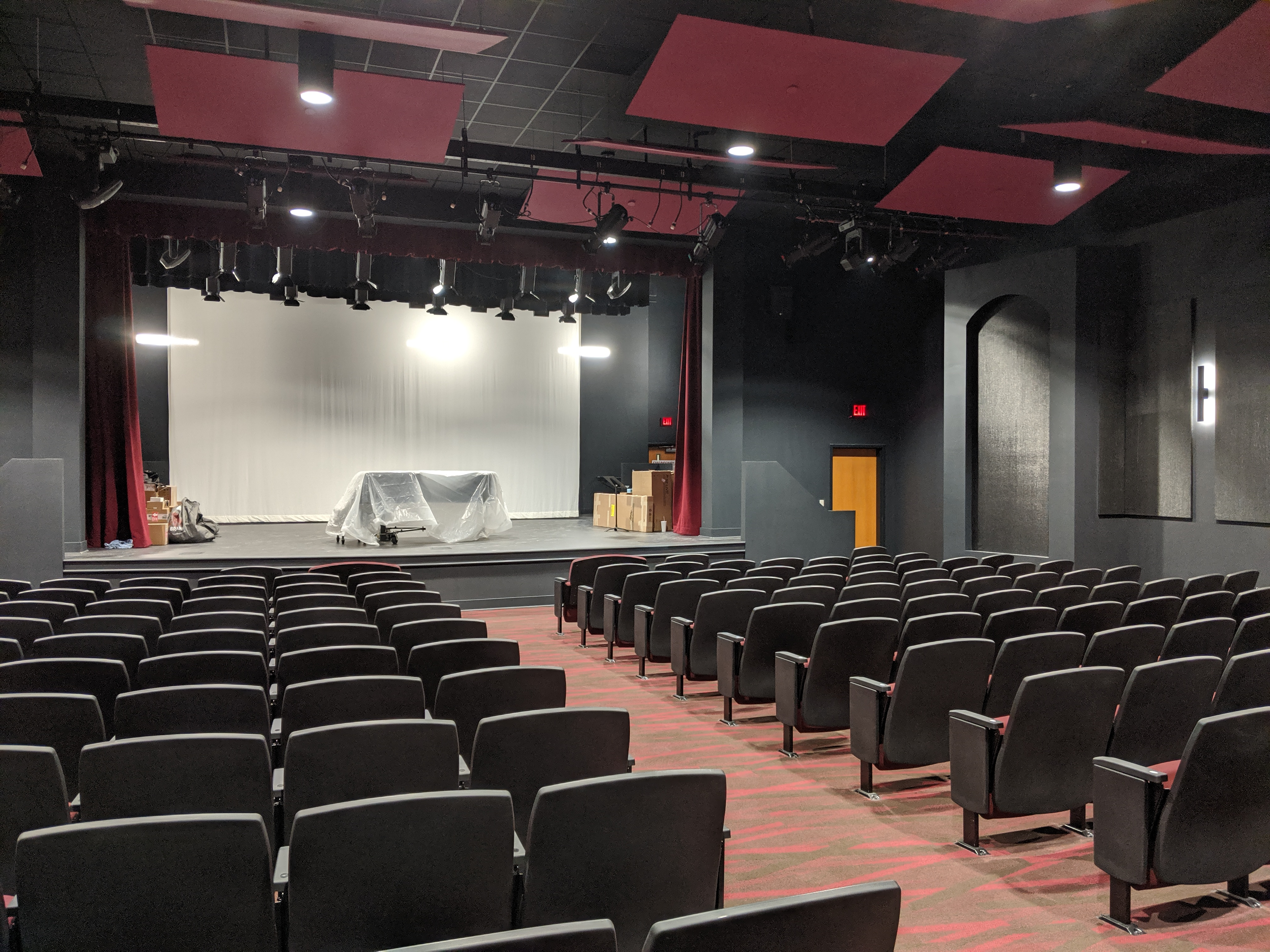 Black Box Theater Progress
